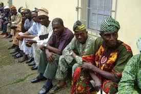 retirees sitting